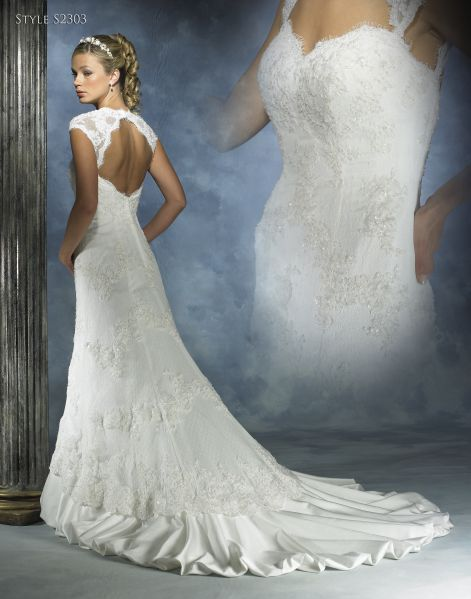 cameo wedding dress