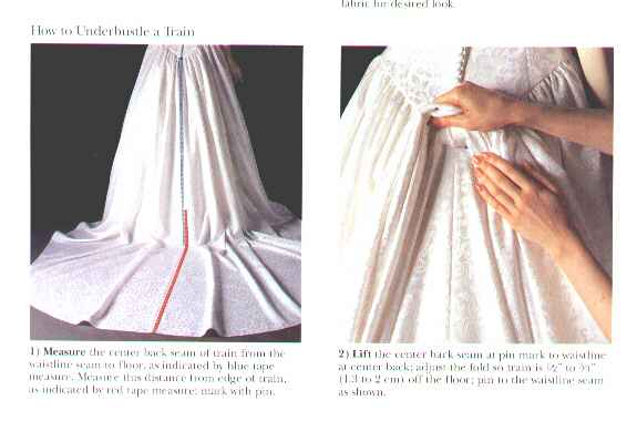 French Bustle Or Under Directions