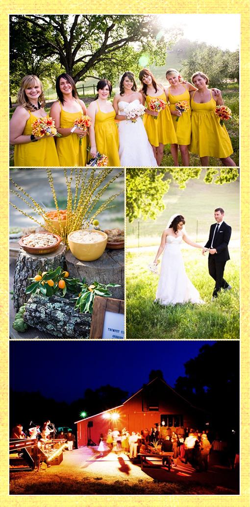 Wedding Color - Yellow