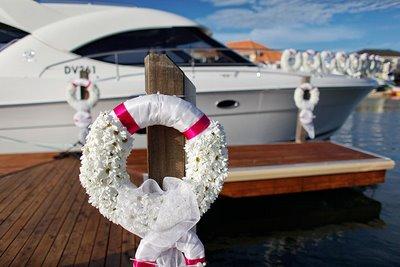 Boat wreath