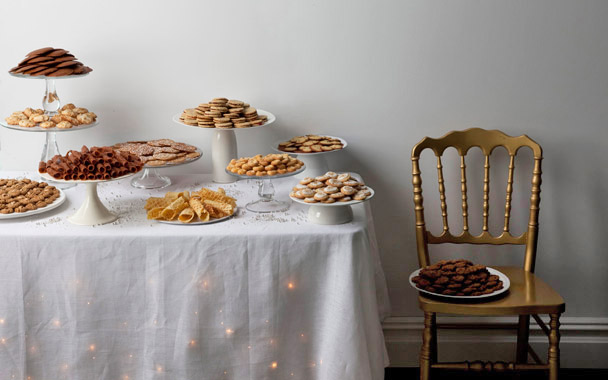 Cookies table