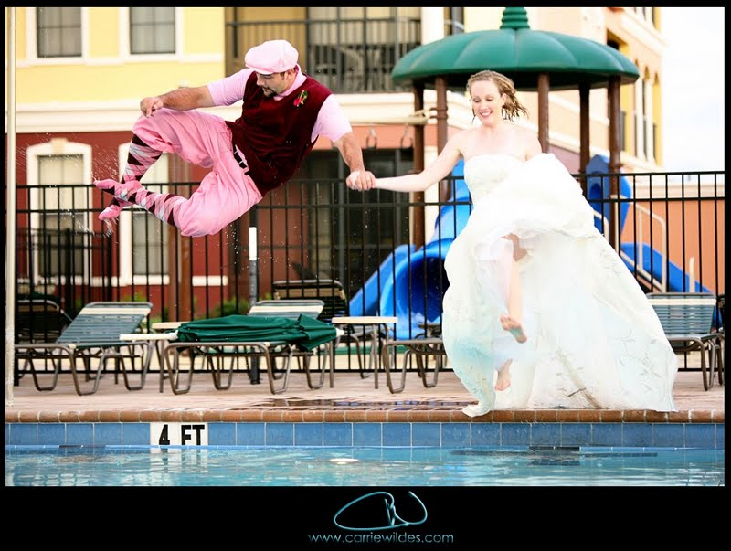 Trash the dress not the shoes