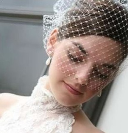 WEDDINGSby JANE The Making Of A Bird Cage Veil