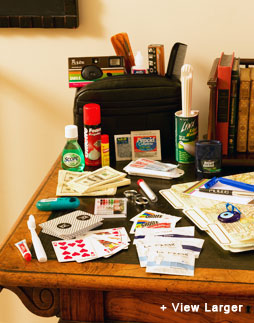 GroomInside survival kits